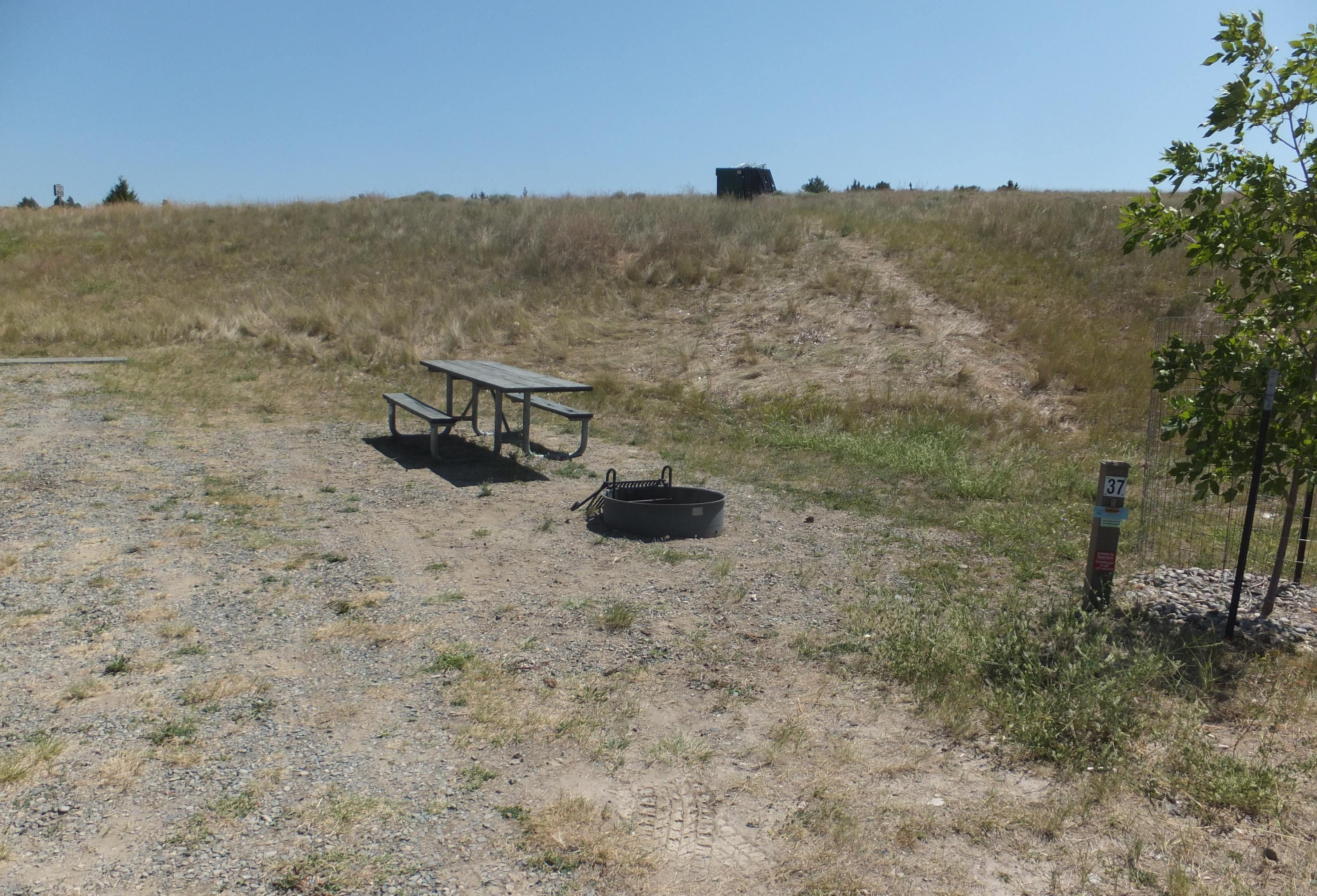 Hellgate Campground - Campsite 37