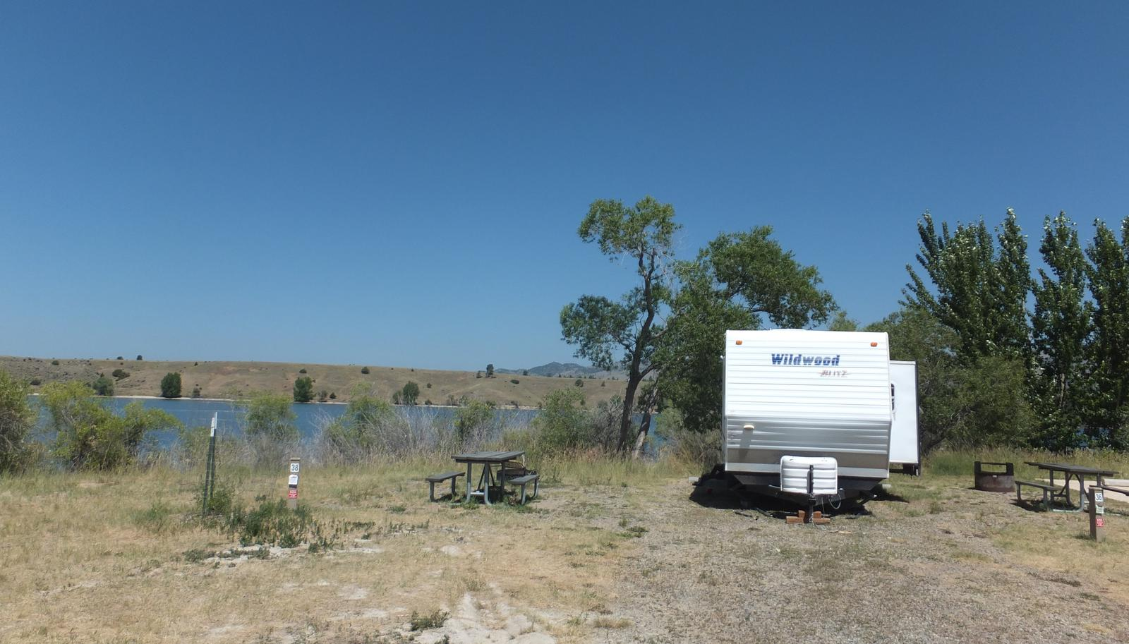 Hellgate Campground - Campsite 38