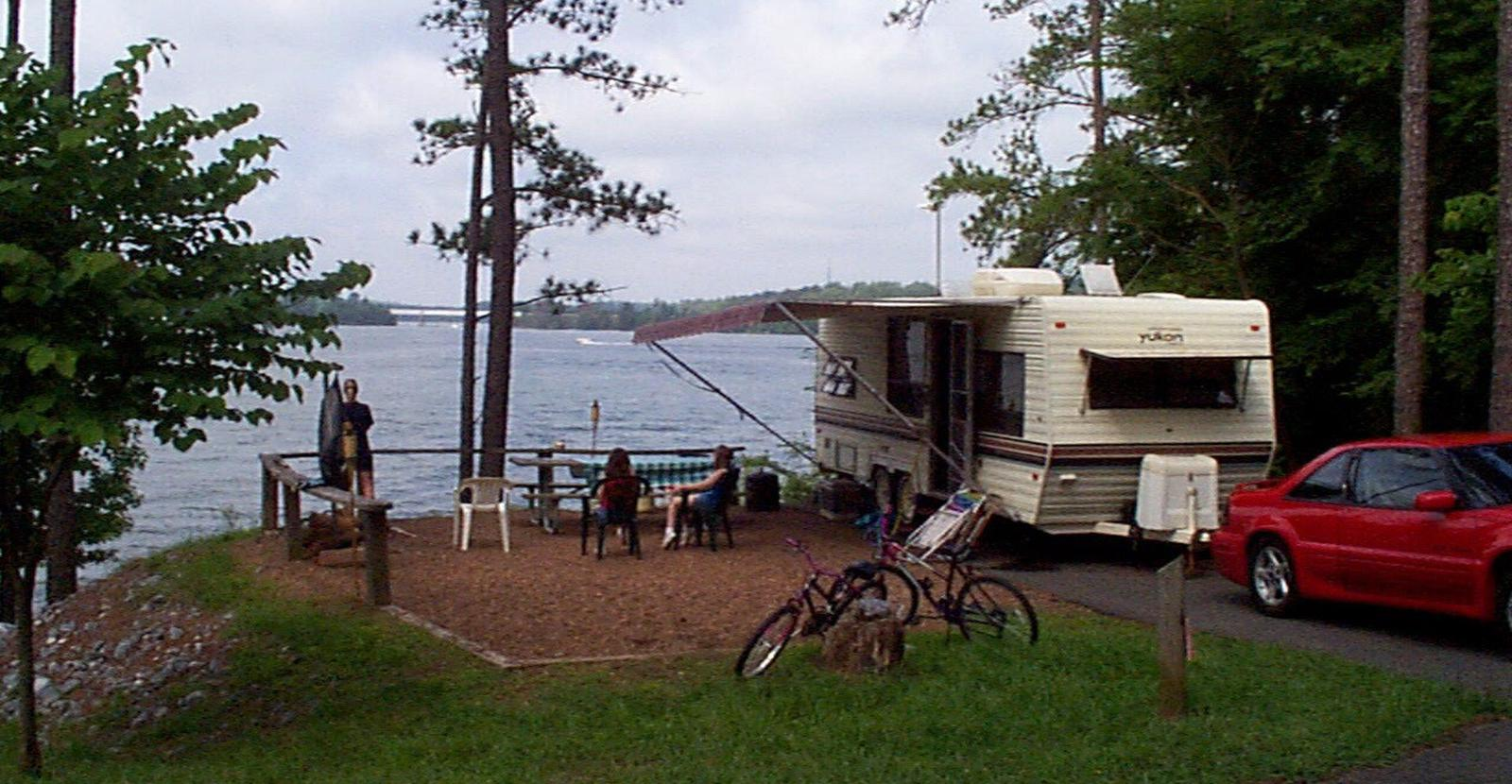 McKinney Campground Allatoona Lake