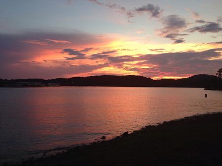 Sunset, McKinney Campground