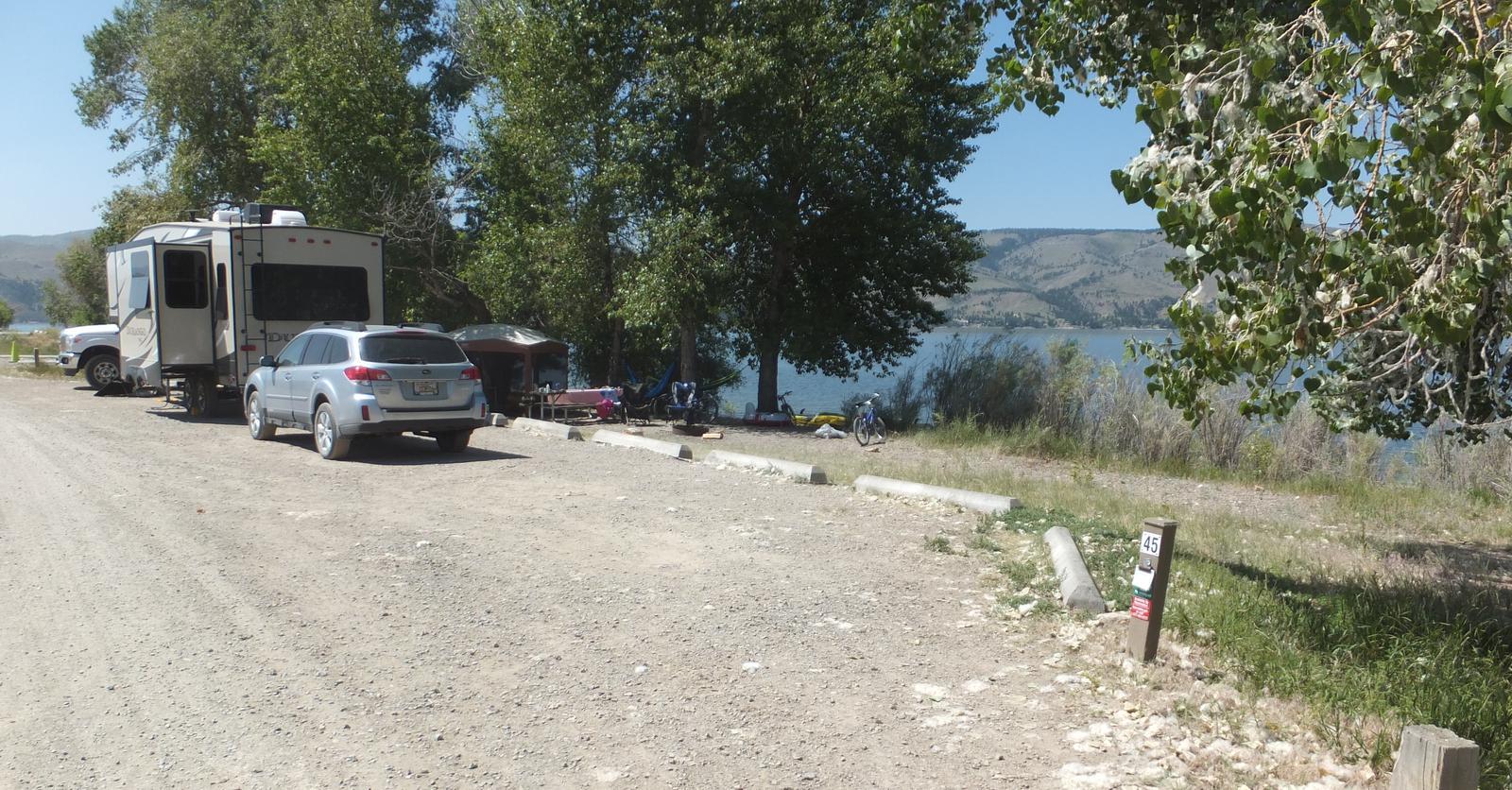 Hellgate  Campground - Campsite 45