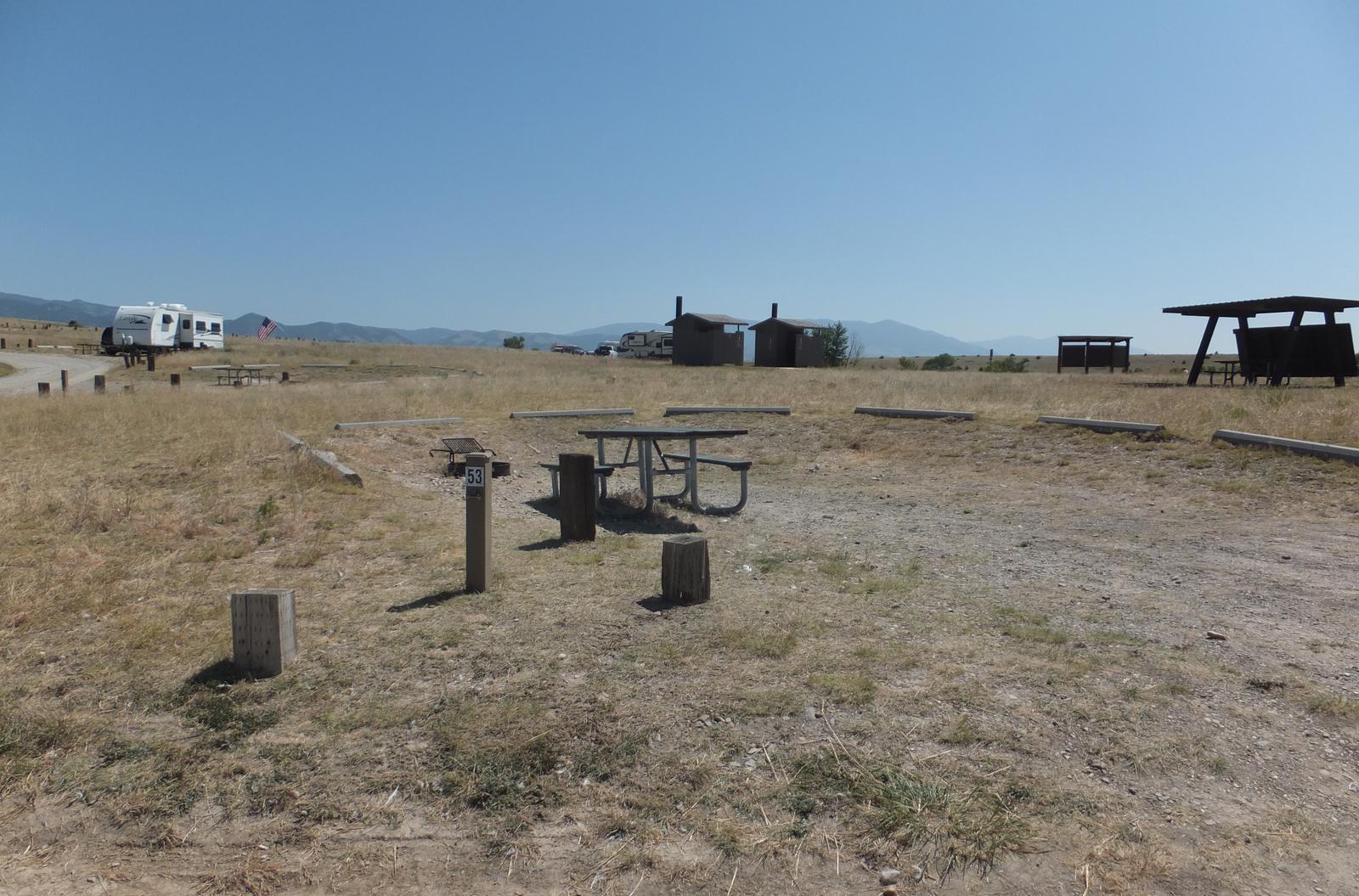 Hellgate  Campground - Campsite 53