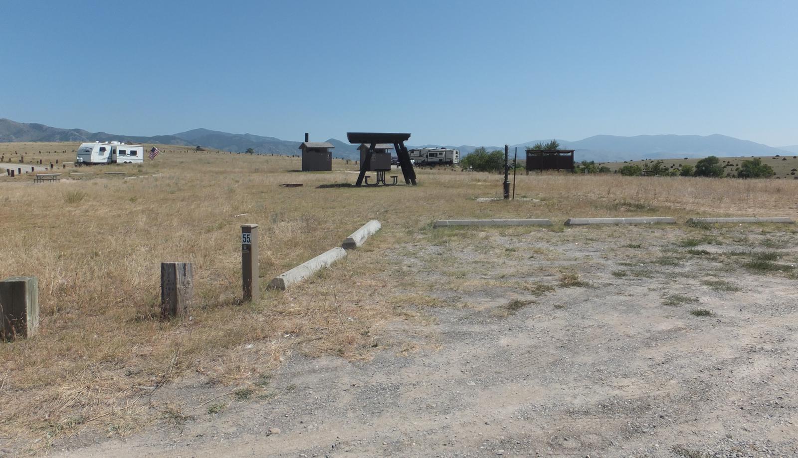 Hellgate  Campground - Campsite 55