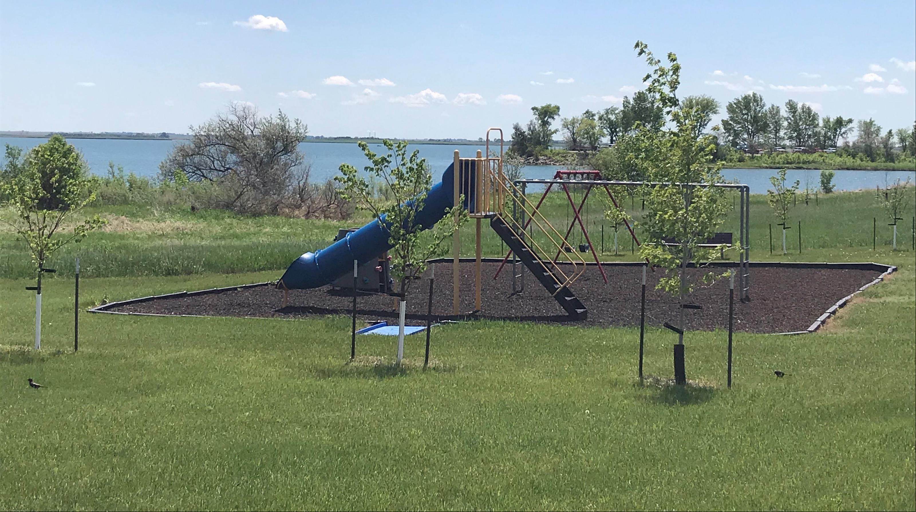 Playground at East Totten Trail on Lake Audubon