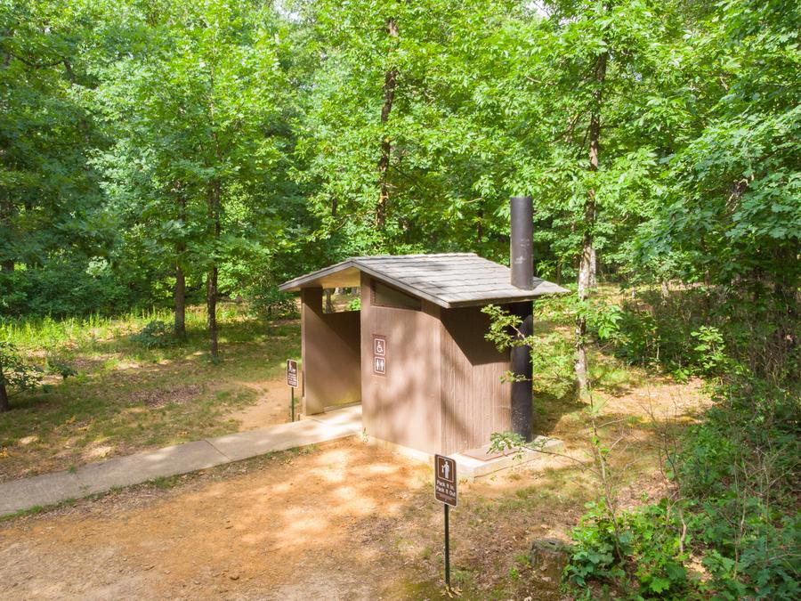 White Rock Vault Toilet