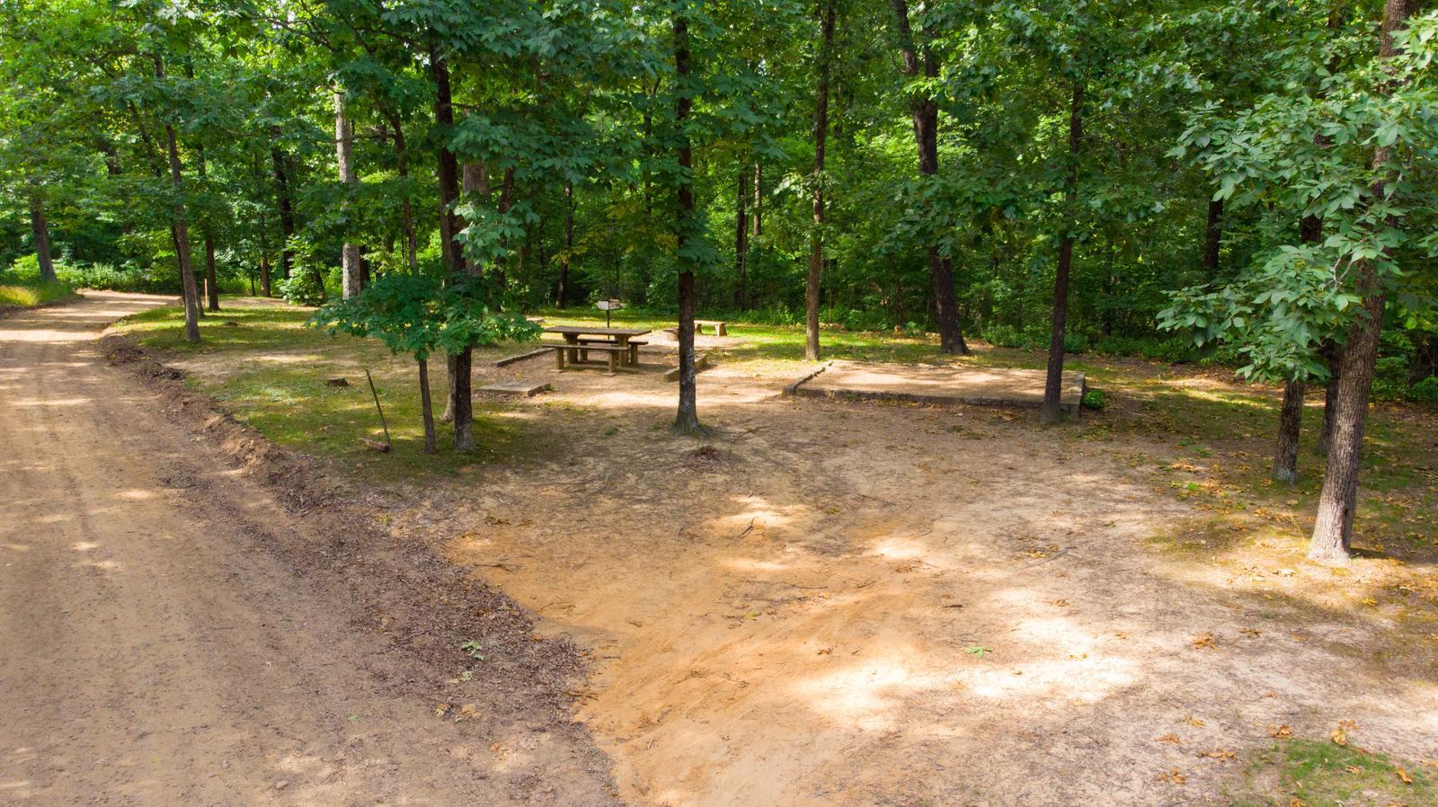 White Rock Mountain Campsite 3