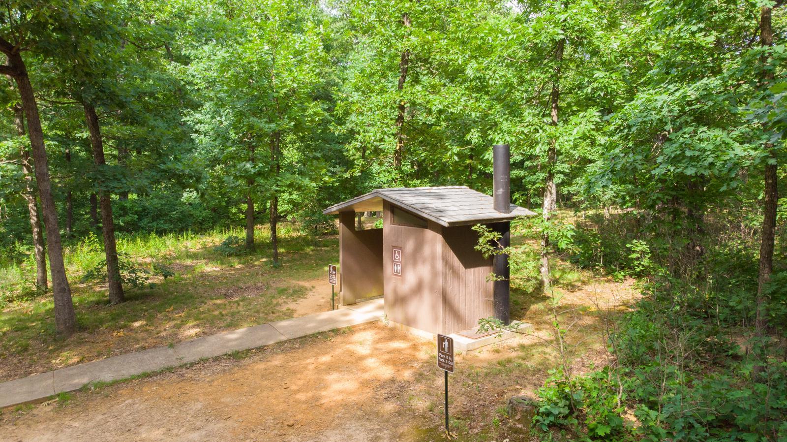 Vault Toilet White Rock MountainVault Toilet