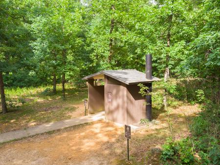 White Rock Mountain Vault ToiletCampground Vault Toilet