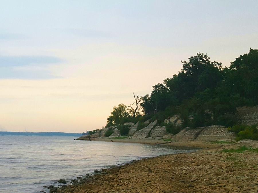 Daybreak at Hugo Lake
