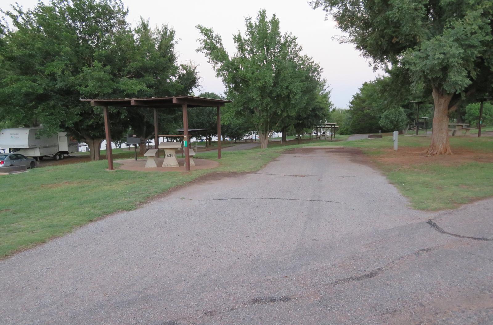 Big Bend A36Big Bend A Campground Site 36