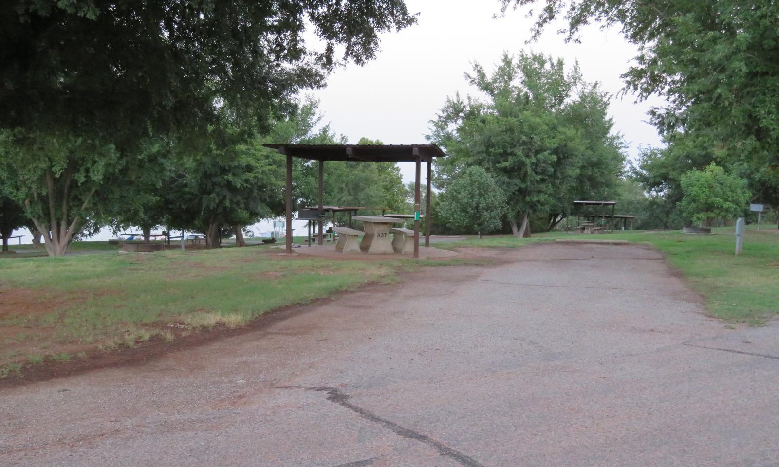 Big Bend A37Big Bend A Campground Site 37
