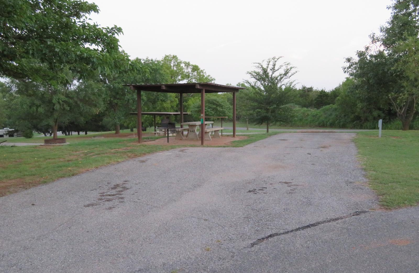 Big Bend A42Big Bend A Campground Site 42