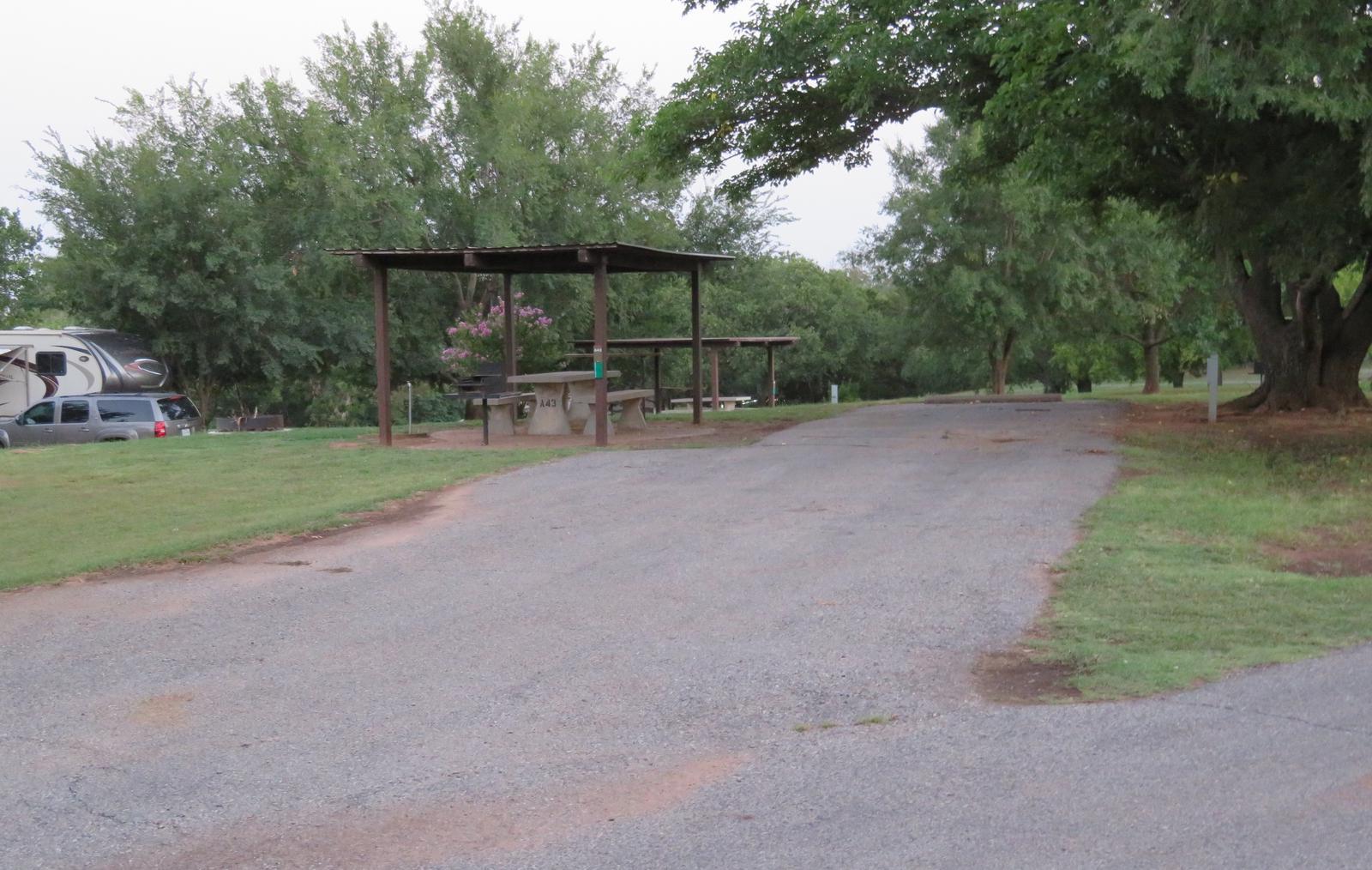 Big Bend A43Big Bend A Campground Site 43