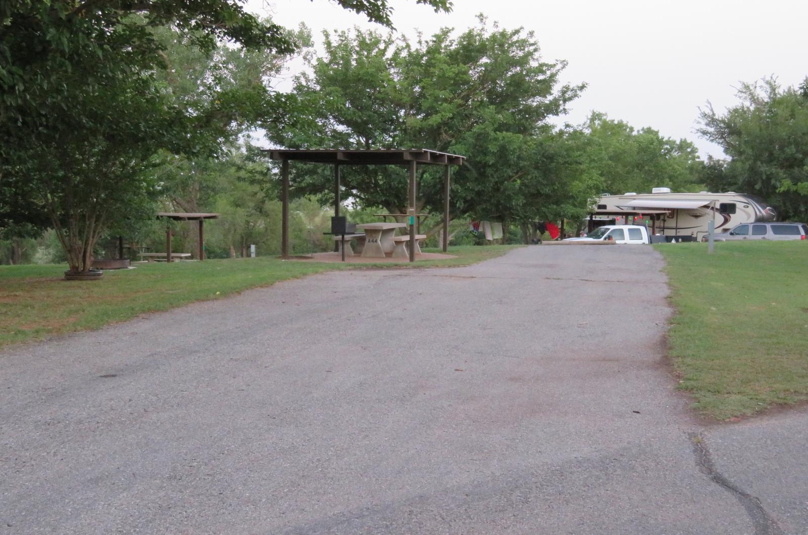 Big Bend A44Big Bend A Campground Site 44