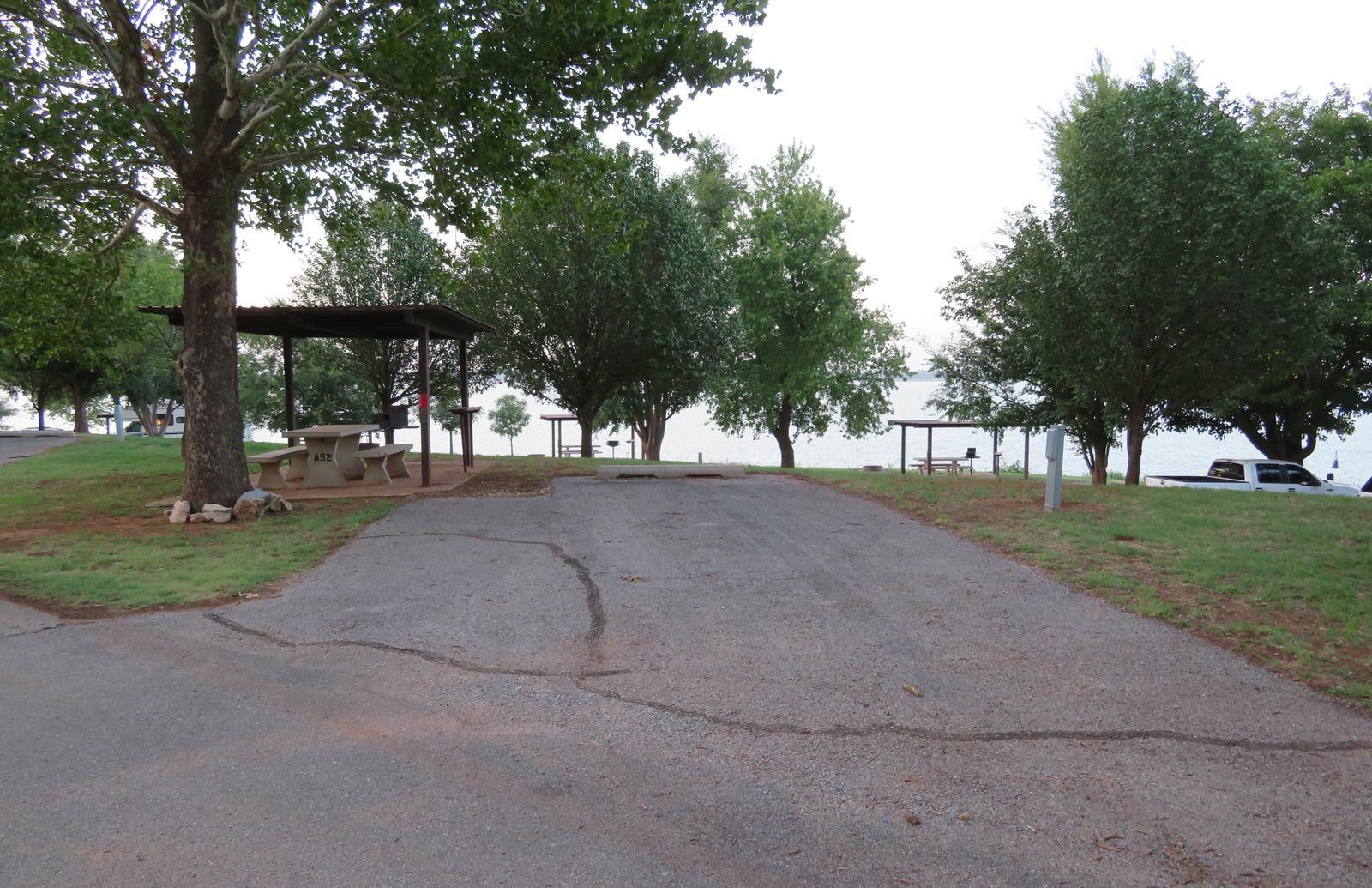 Big Bend A52Big Bend A Campground Site 52