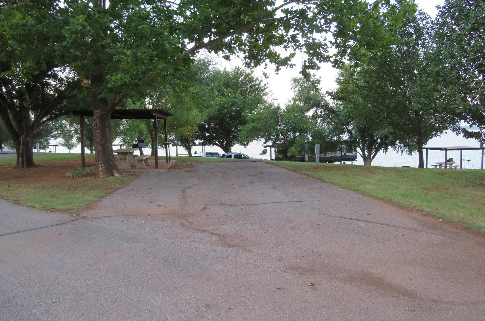 Big Bend A53Big Bend A Campground Site 53