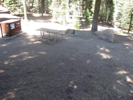 Campsite 18, Shady, Near Creek, Meadow, and Restrooms