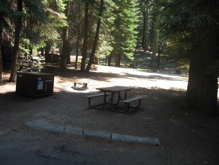 Site 214, shady, near restrooms