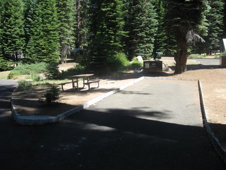 Campsite 26, Sunny, Near Restrooms