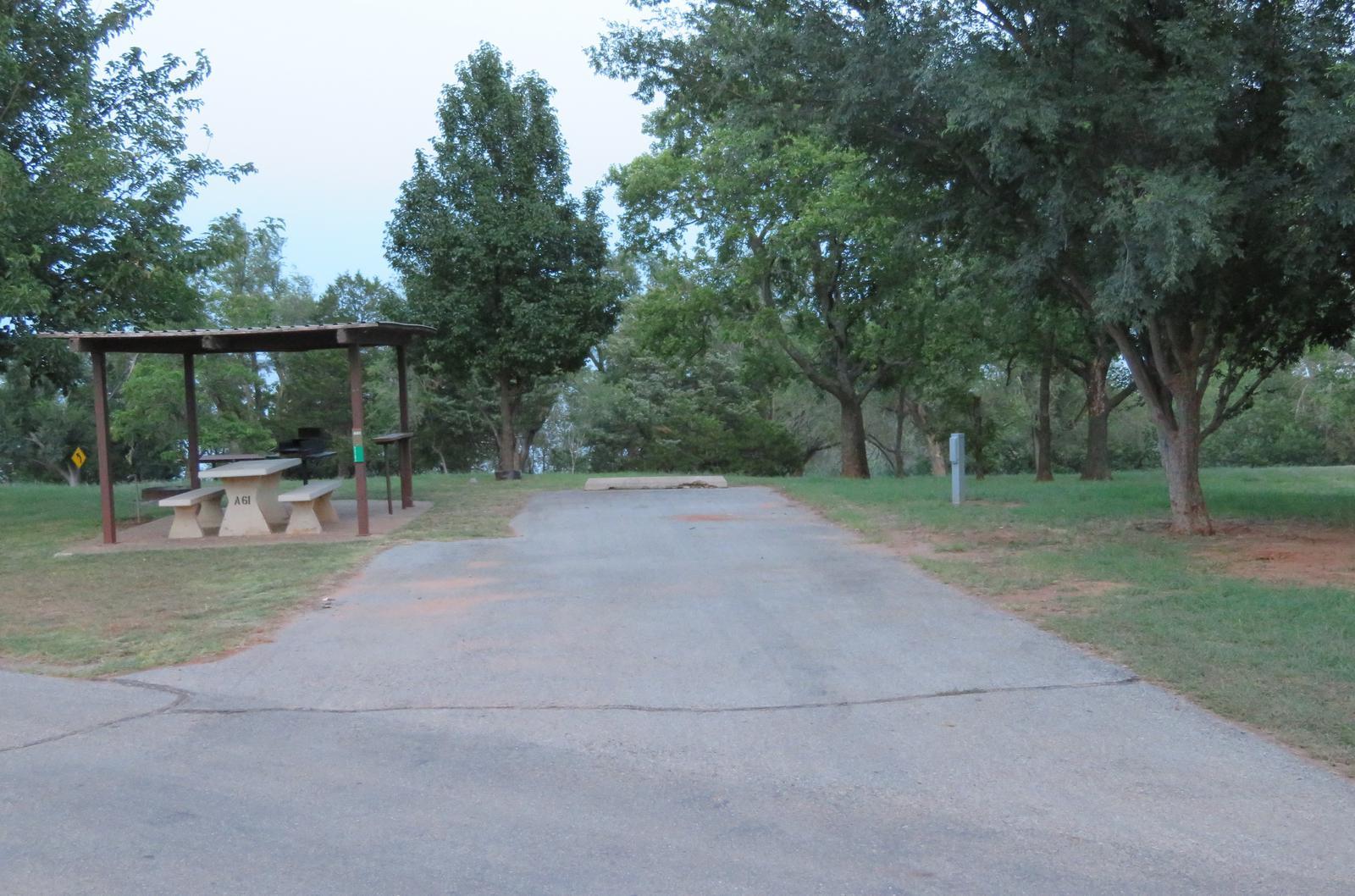Big Bend A61Big Bend A Campground Site 61