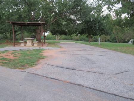 Big Bend A62Big Bend A Campground Site 62