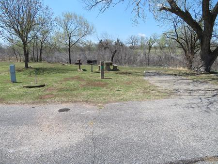 Big Bend B5Big Bend B Campground Site 5