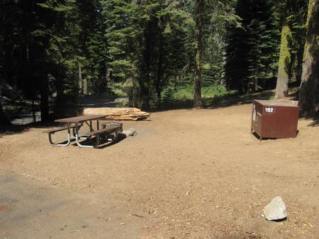 Site 192, shady, near roadway