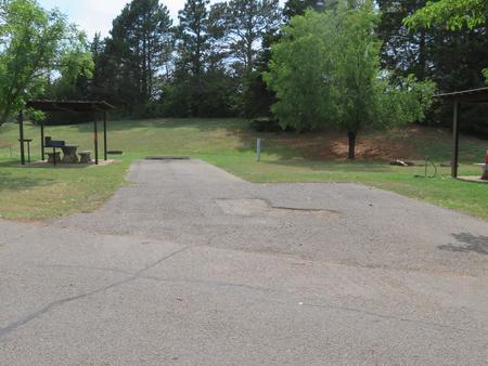 Big Bend B21Big Bend B Campground Site 21