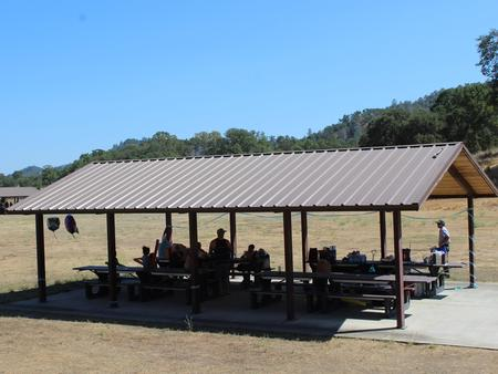 Coyote Beach Shade Shelter #2 on July 22, 2018.