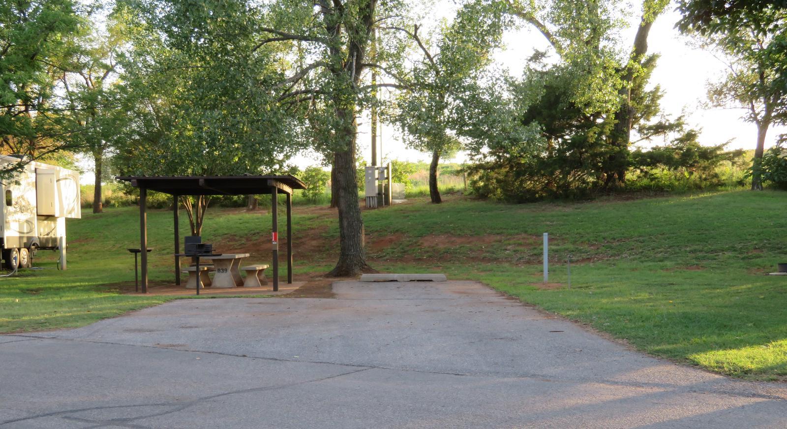 Big Bend B39Big Bend B Campground Site 39