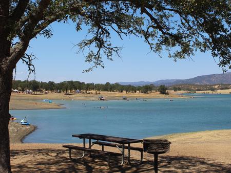 Oak Ss Day Use Area From Acorn Beach Home Lake Berryessa