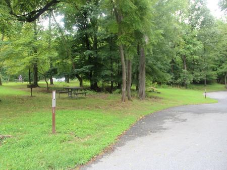 Greenbelt Park Campground Site 148