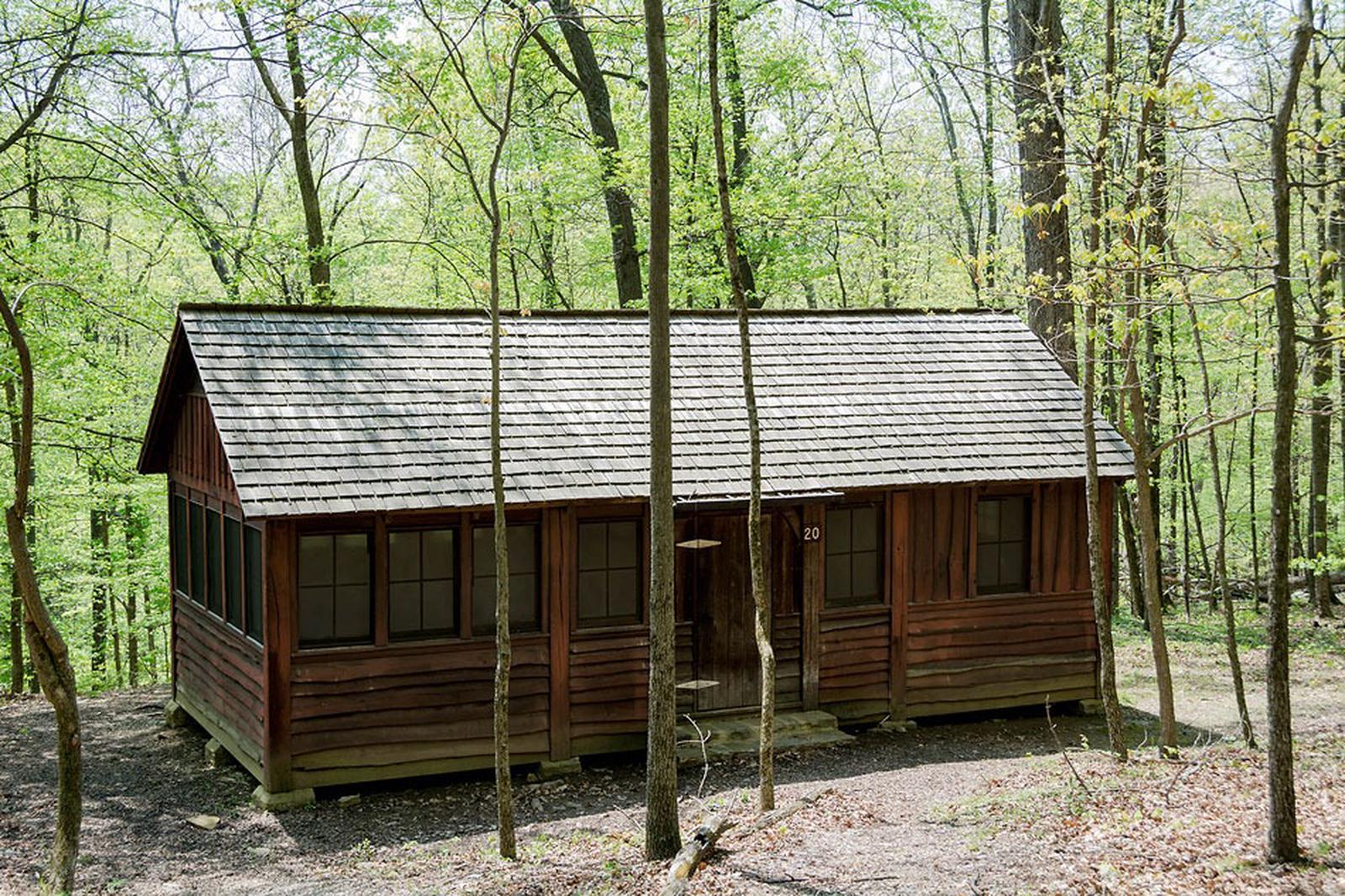 Camp Misty Mount Cabin 20