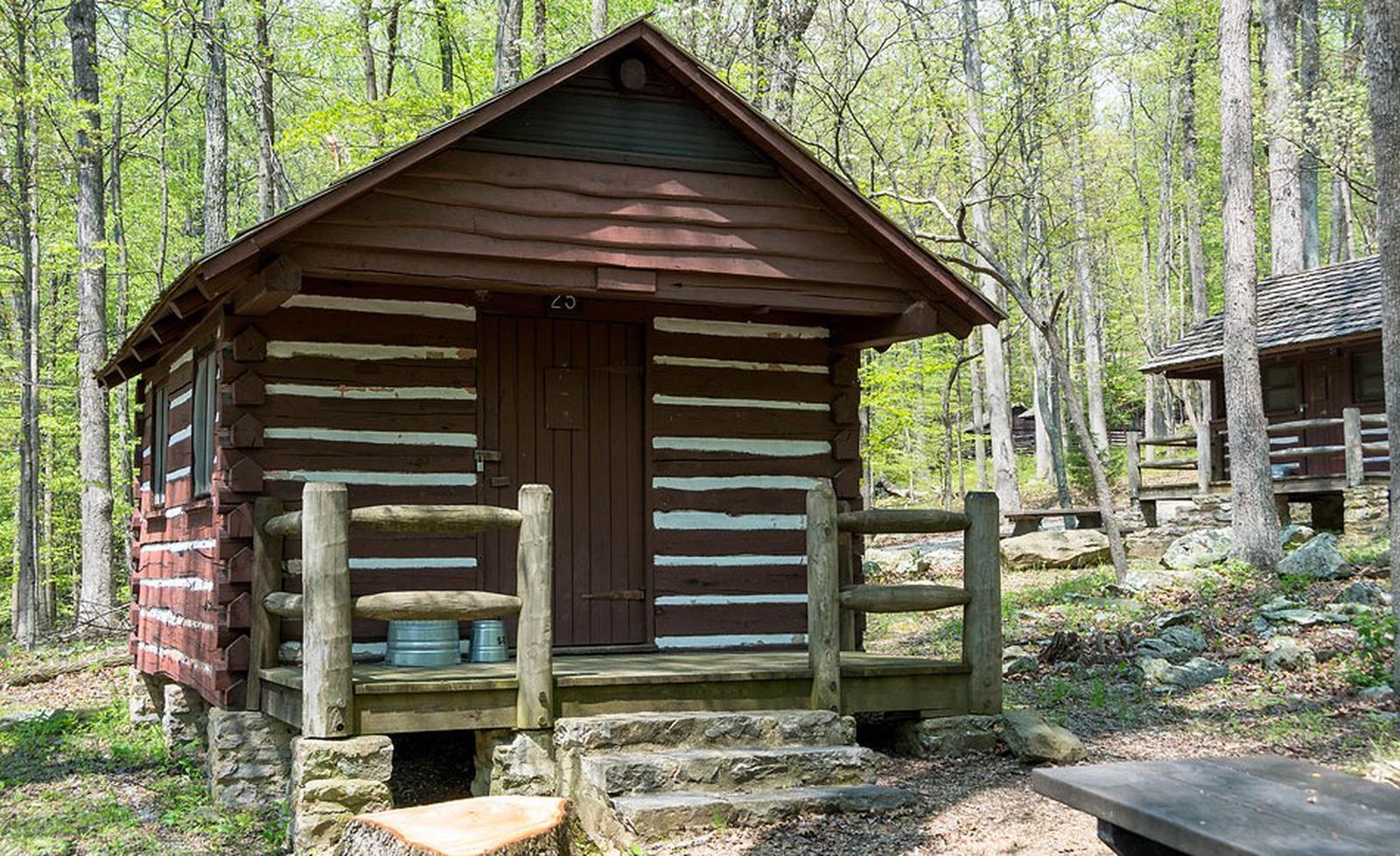 Camp Misty Mount Cabin 25