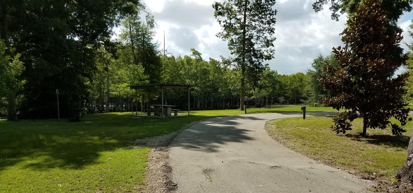 A photo of Site 34 of Loop MAGNOLIA RIDGE  at MAGNOLIA RIDGE with Electricity Hookup, Waterfront, Water Hookup