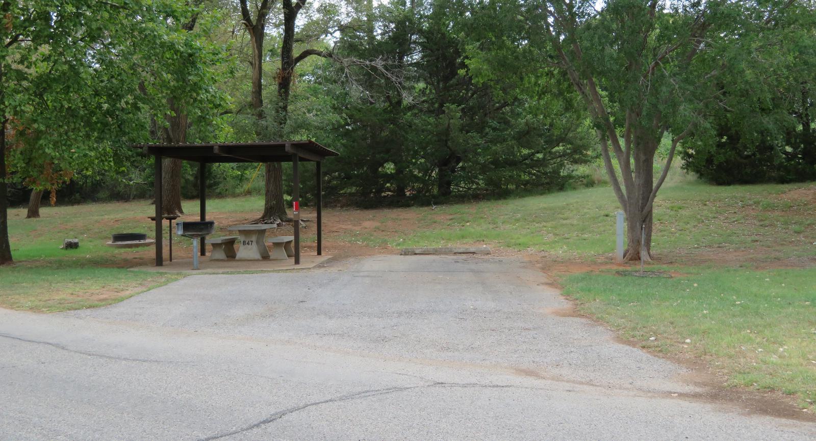 Big Bend B47Big Bend B Campground Site 47