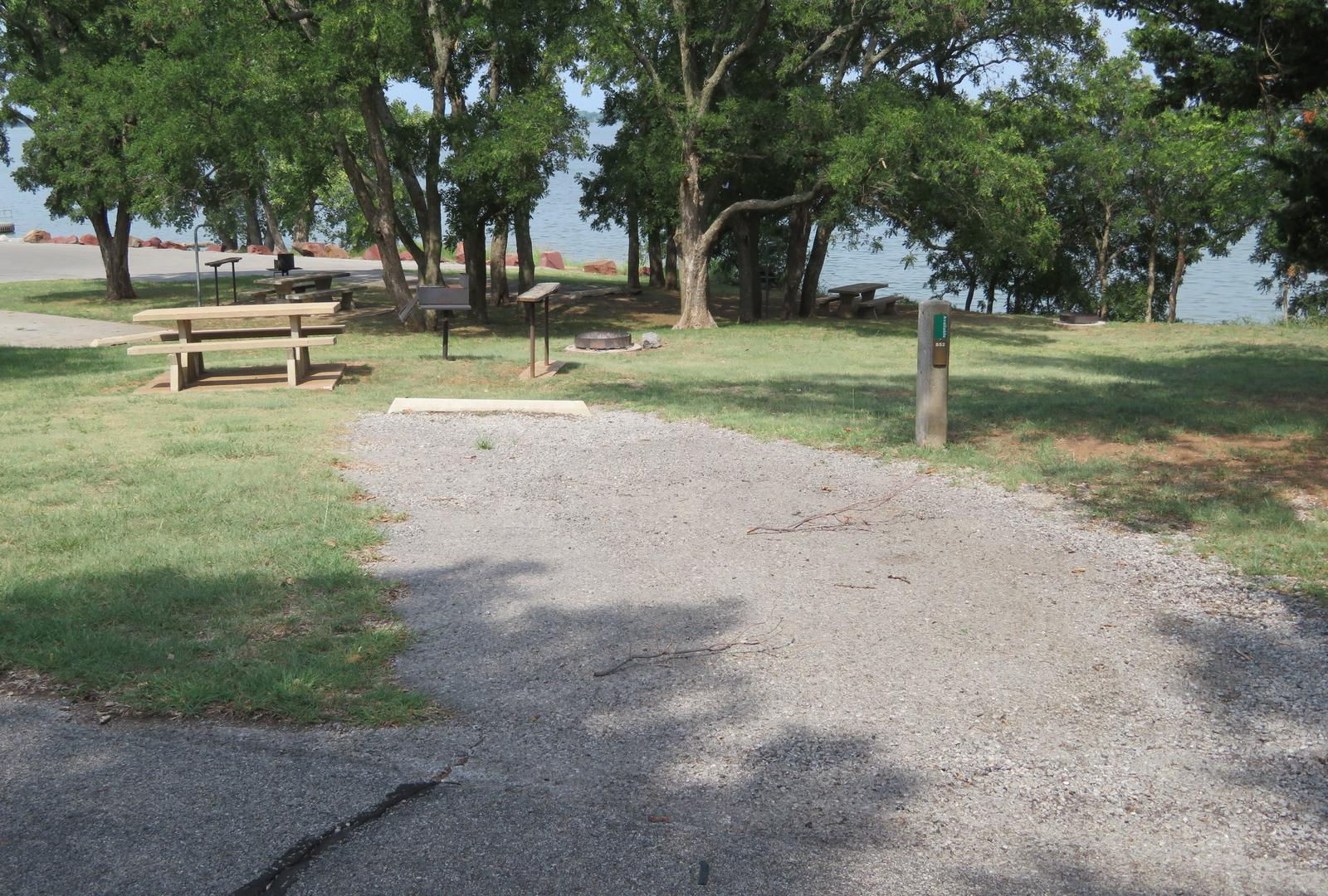 Big Bend B52Big Bend B Campground Site 52
