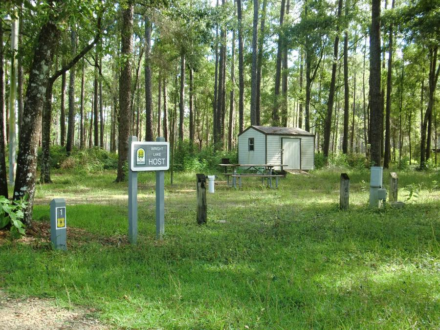 Host Site at Wright Lake Campground