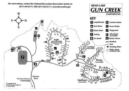 Gun Creek CampgroundMap of the Campground