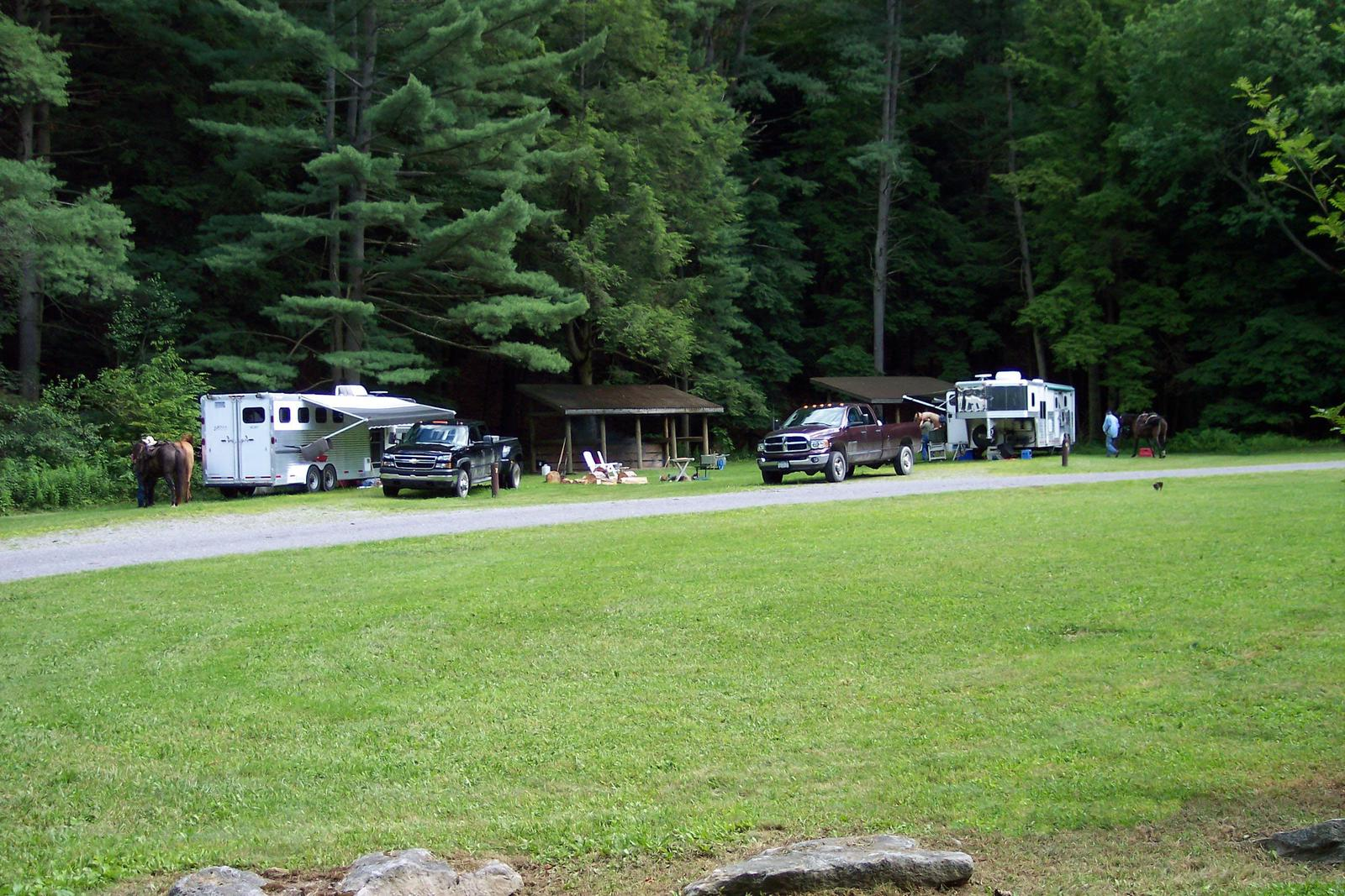 Kelly Pines Campground Overview