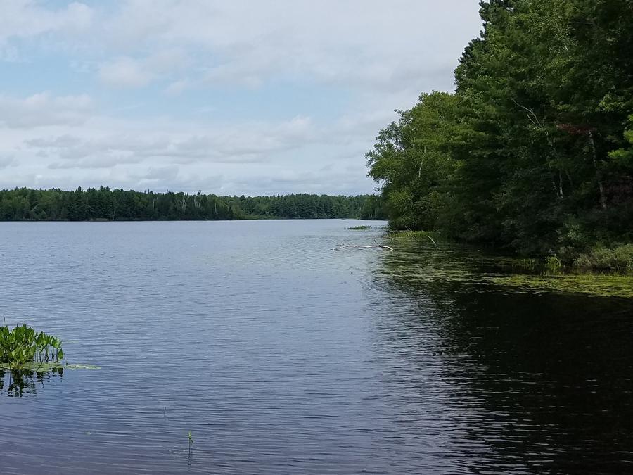 Black Lake Boat Landing View
