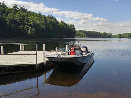 Ranger patrol boat
