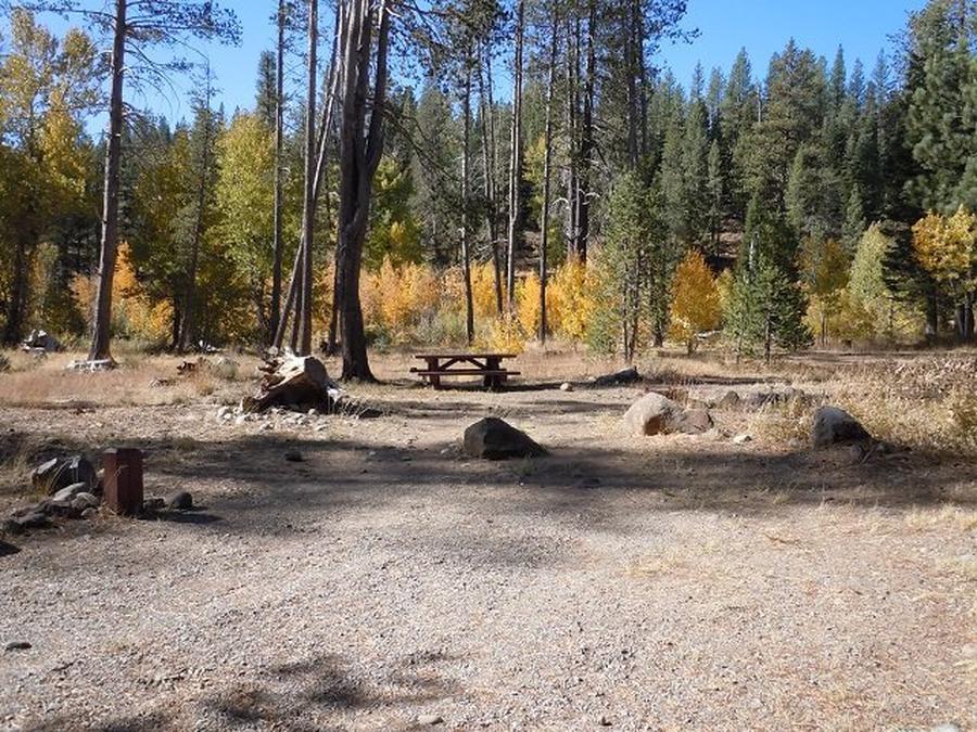 Campsite 6Lower Little Truckee Campground, Campsite 6