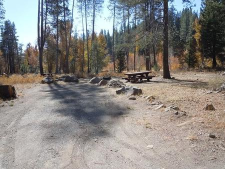 Campsite 8Lower Little Truckee Campground, Campsite 8
