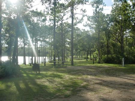 CAMEL LAKE CAMPGROUND SITE 2