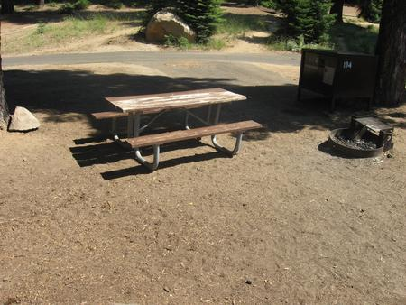 Site 184, partial shade, near restrooms