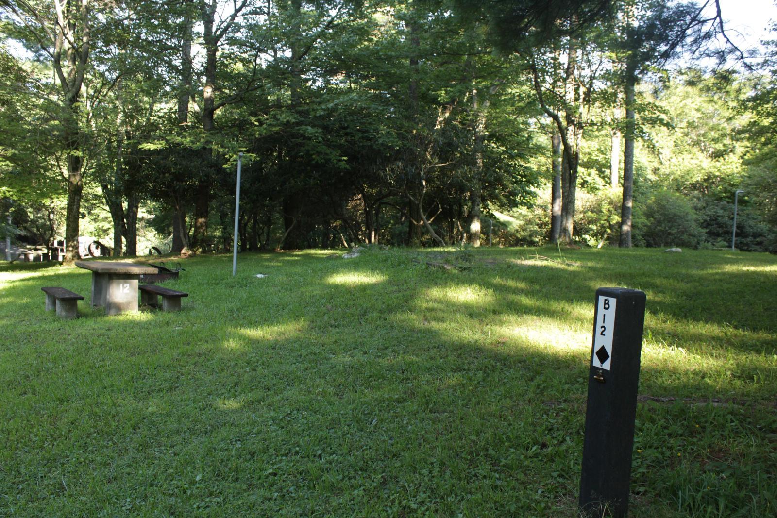 B12 Tent Site Photo
