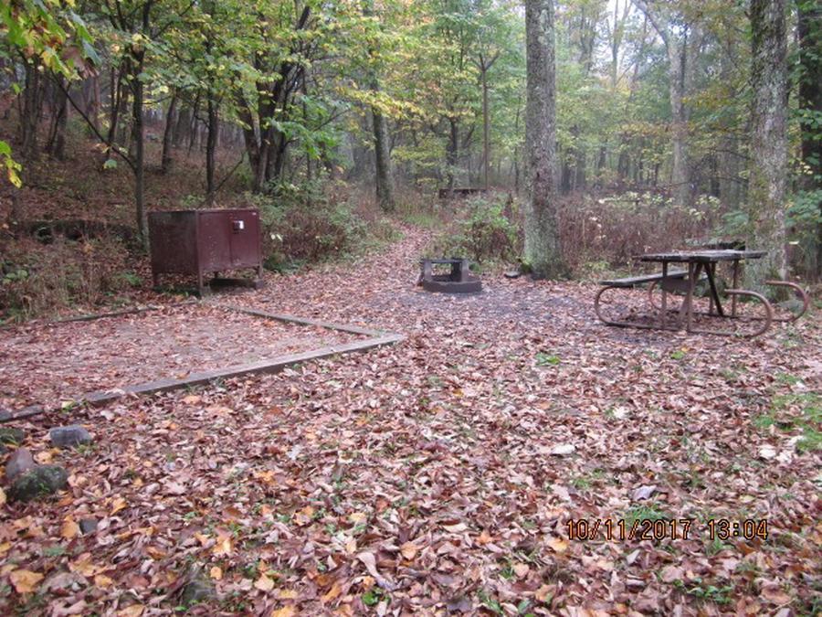 Loft Mountain Campground - Site 12