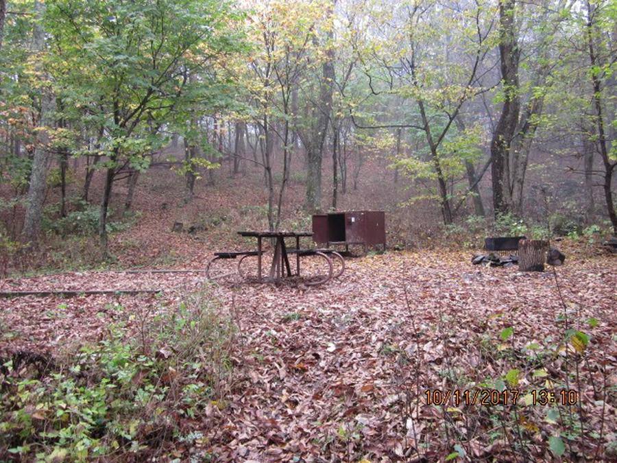 Loft Mountain Campground - Site 13