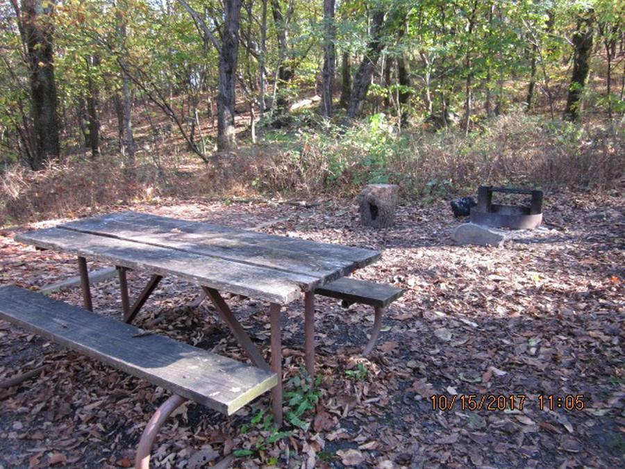 Loft Mountain Campground - Site 15